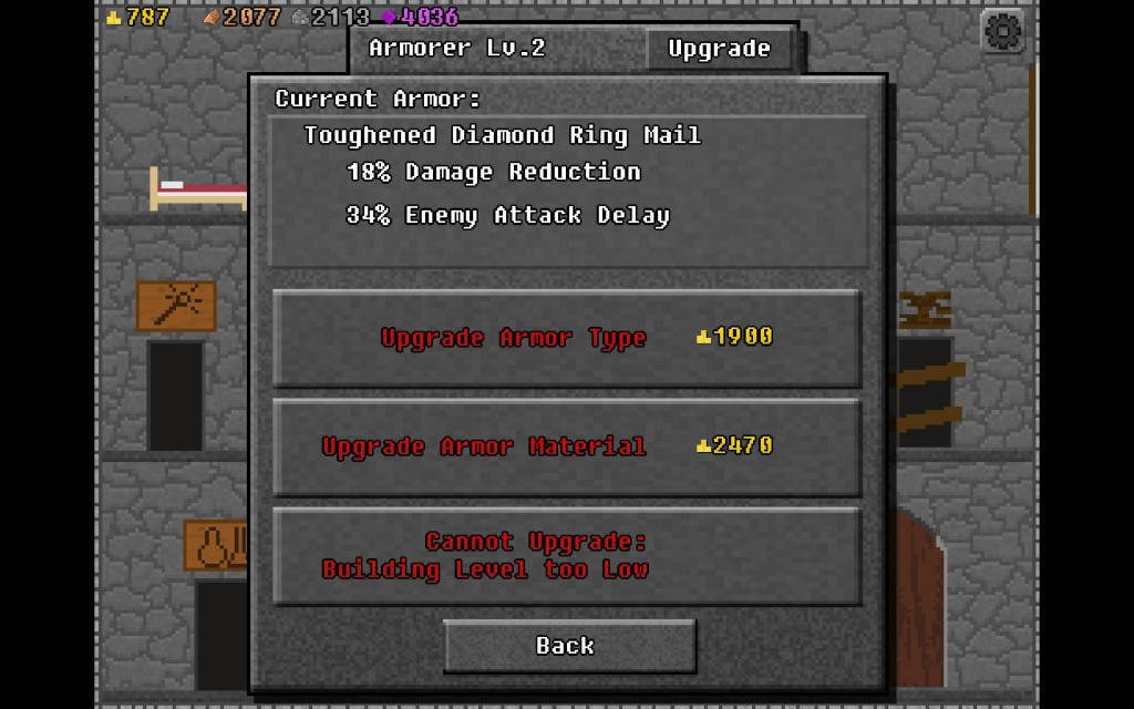 After repairing facilities in your dungeon, the one you get the most benefit out of is Enemy Attack Delay (for obvious reasons).