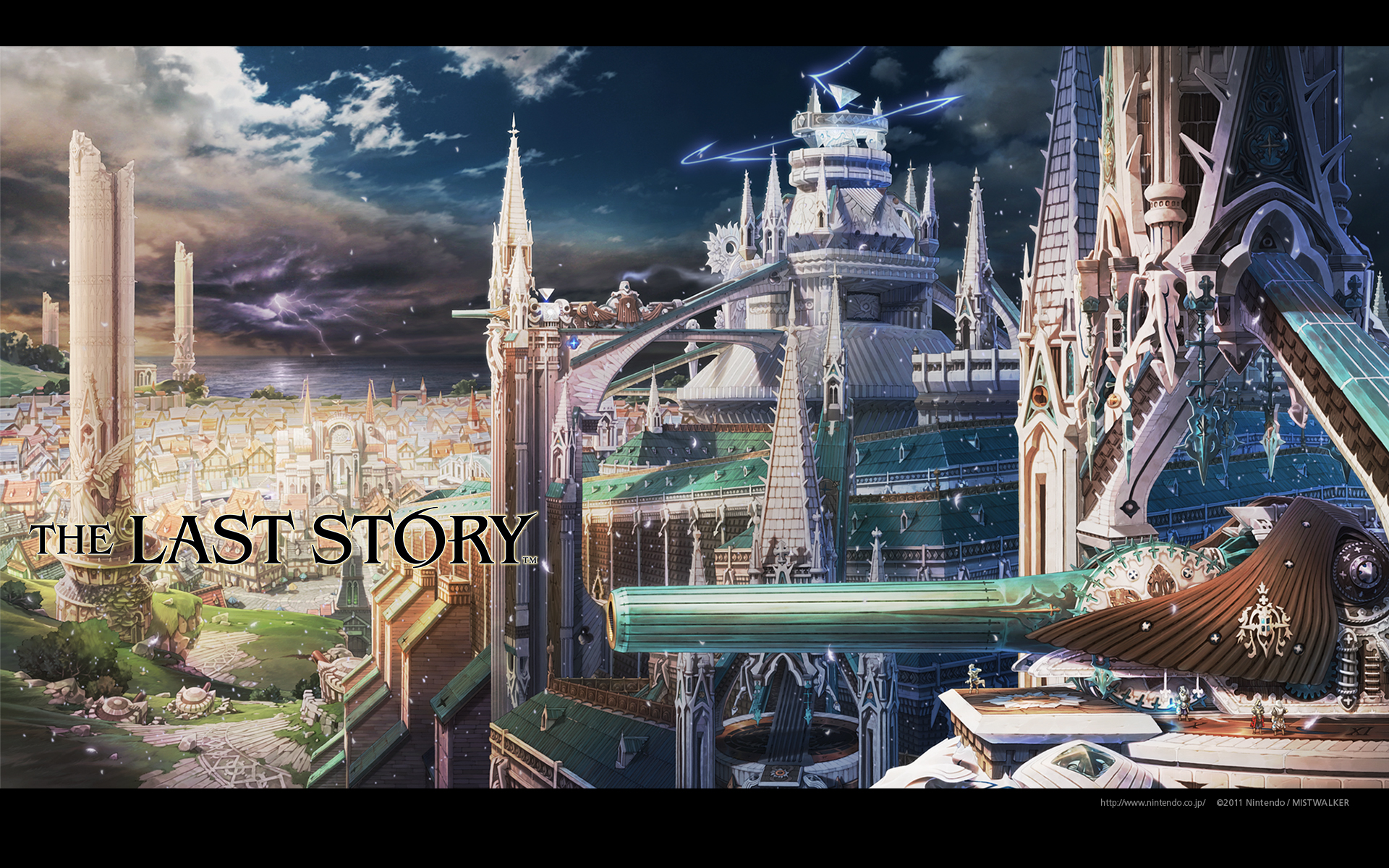 Review the last story the videogame backlog - The last story hd ...