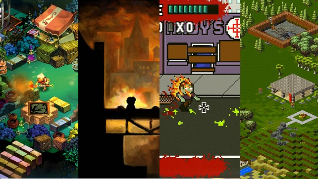 Indie games are awesome, and I'm glad I could use this image I mashed together twice now!  Bastion, Braid, Dead Pixels, and Towns are all great indie titles that should be checked out!