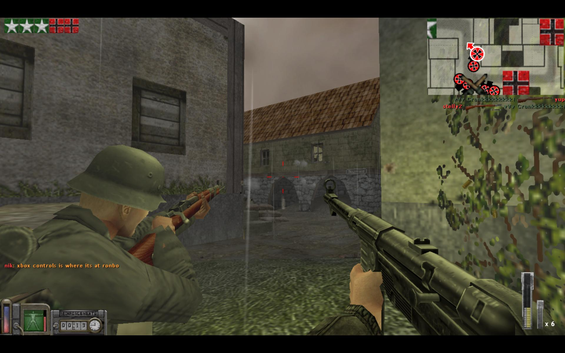 This is one of the first PC shooters I've played. I can't go back to it with ease because the control scheme is drastically different from most common FPS's these days.
