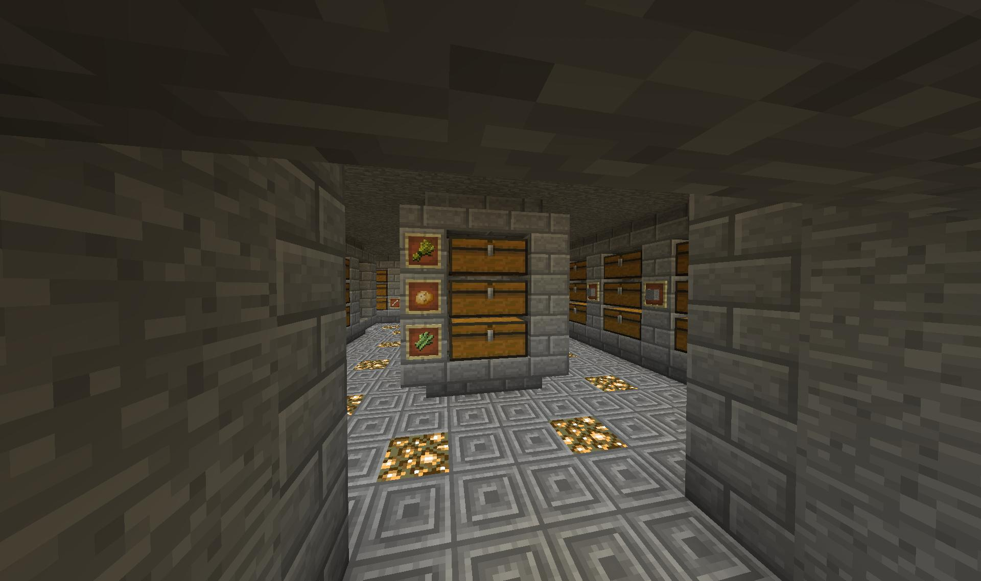 Coming In From The Makeshift Farm You Can See The Storage Room. I Just  Recently