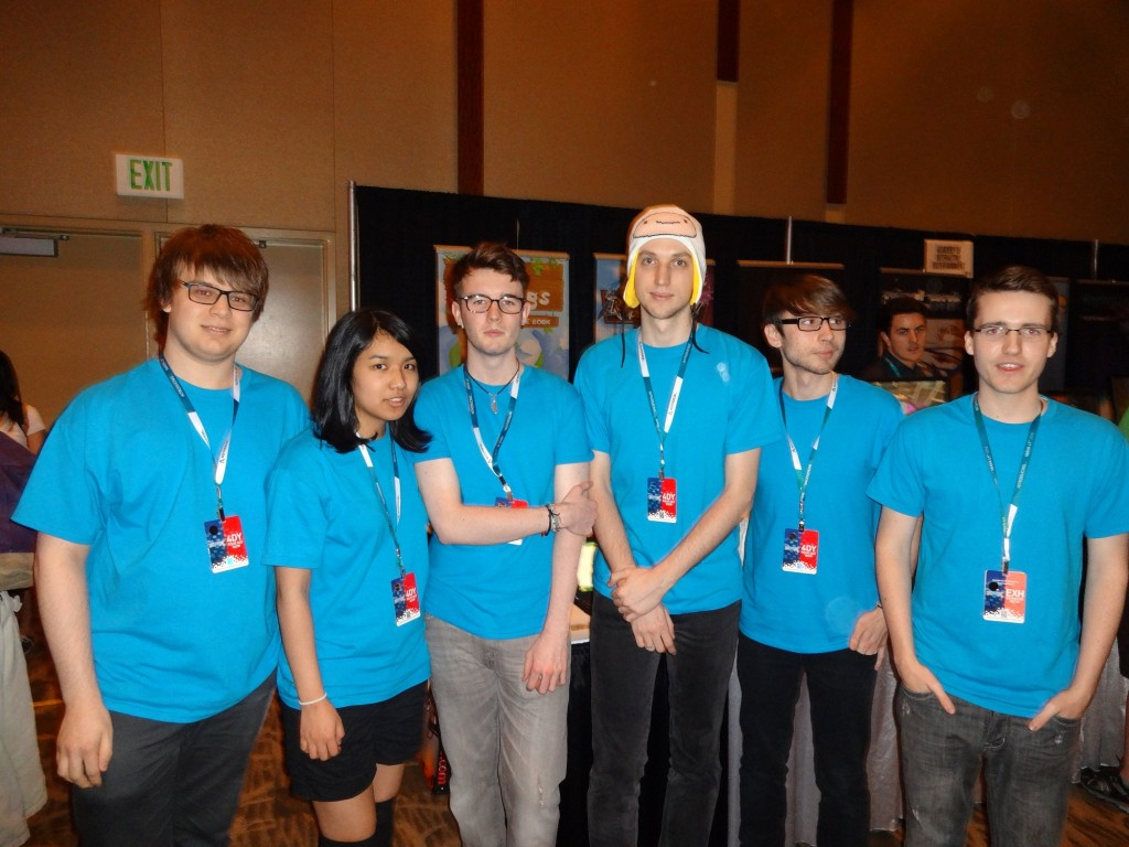 From left to right is Robert Christian, Jennifer Limson, Liam O'leary, Kriss Vanags, Adam Pinto, Madison Bryant.