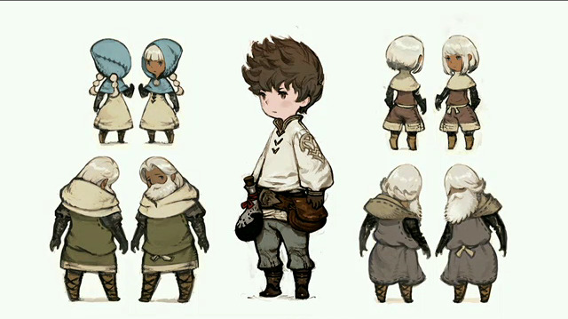 This art style reminds me of something... oh right Fire Emblem! Where is the footless character style coming from?