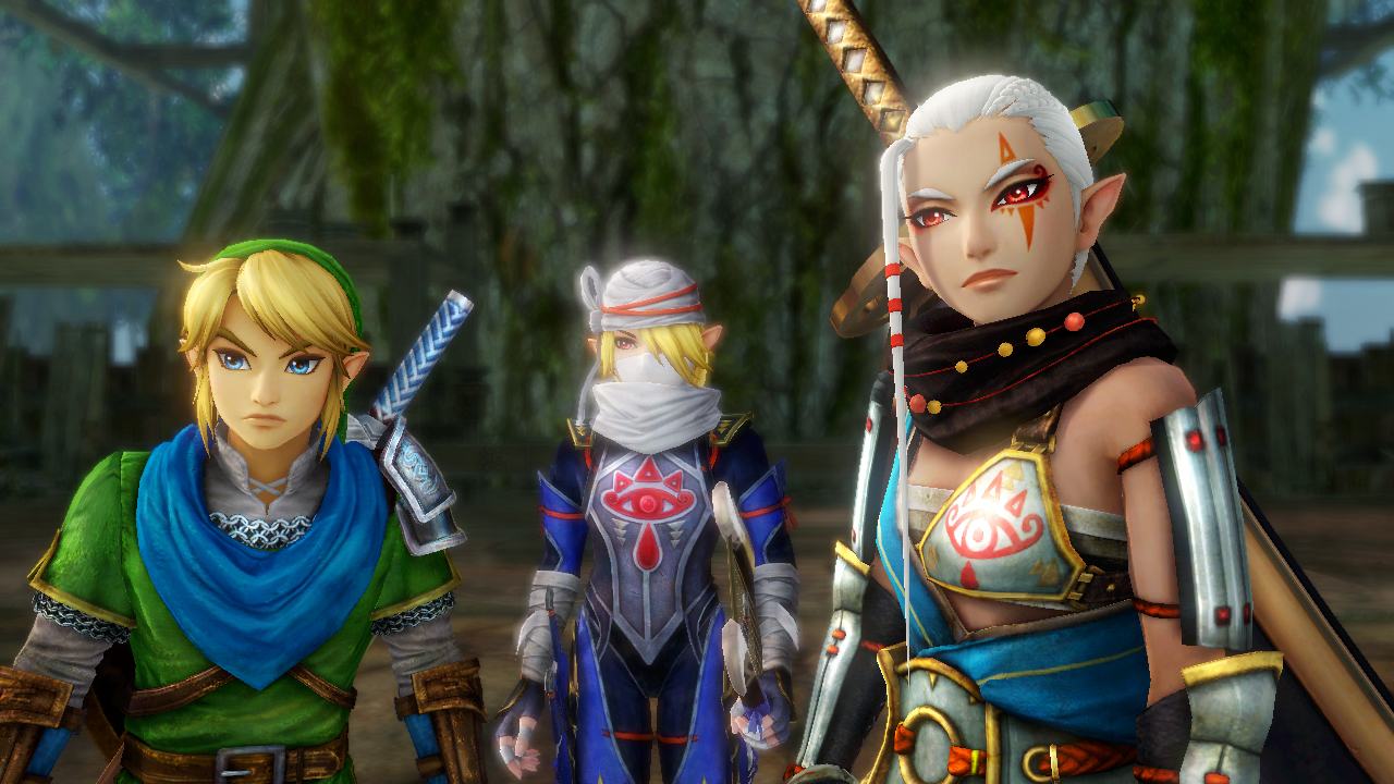 These three work well together, but I'll admit that it's weird when you have Sheik and Zelda int eh same fight for any given scenario... you just have to go with it.