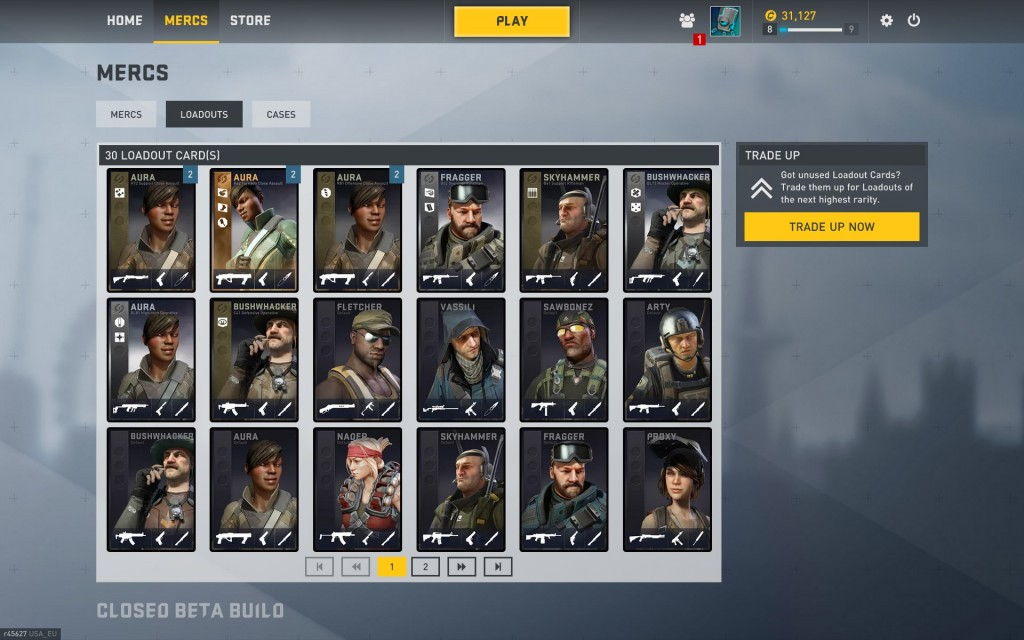 I seriously wish that, while you may be able to pick who your random card is, you could pick the weapon they get as well.