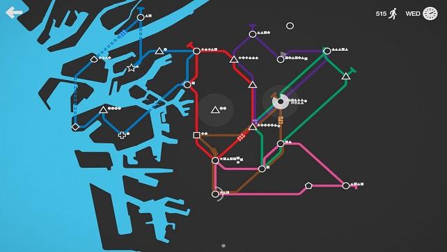 Impressions: Mini Metro