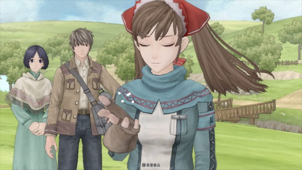 Left to right: Isara, Welkin and Alicia.