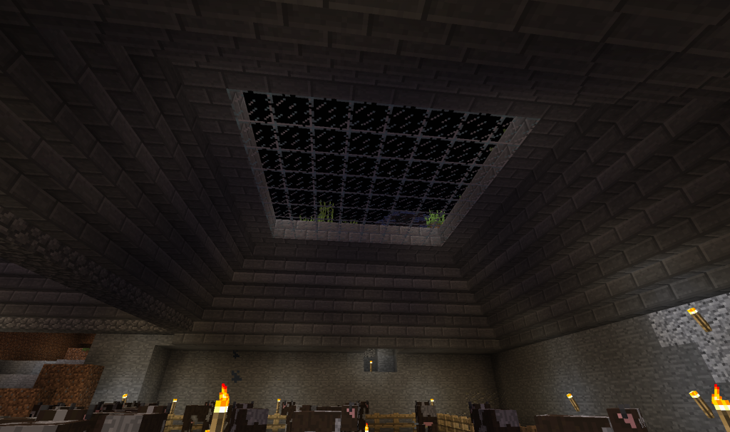 Adding in some skylights! Looking classy.