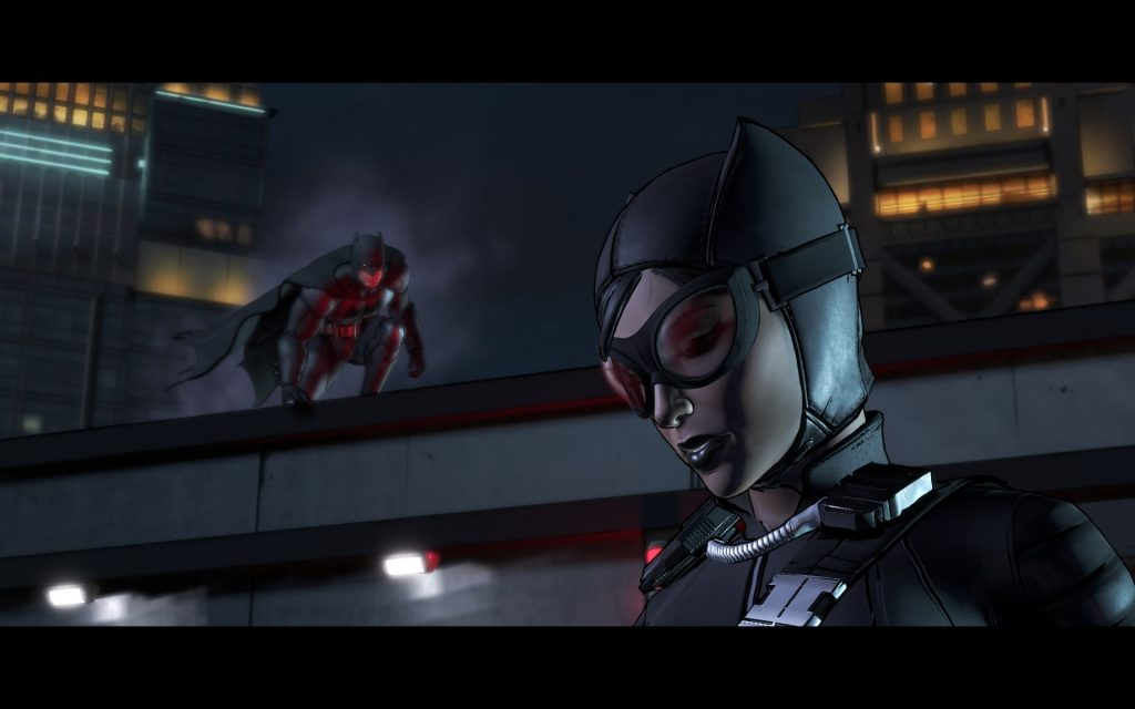 Catwoman senses a QTE fight sequence incoming. What she doesn't know is that I'm about to wreck her something fierce.