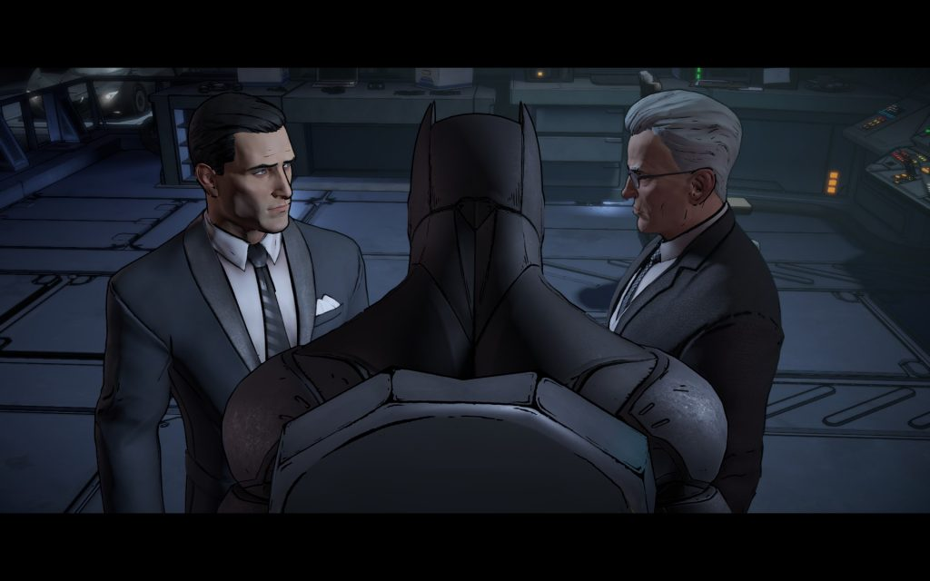 """I'm telling you Alfred, it was a soft punch. Like if you were to punch a kitten. It was just a friendship punch. He shouldn't be in the hospital!"""