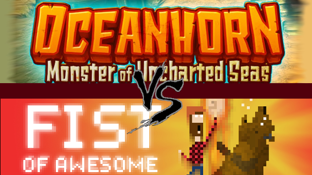 Oceanhorn: Monster of Uncharted Seas Vs. FIST OF AWESOME