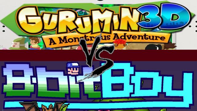Gurumin 3D: A Monstrous Adventure Vs. 8BitBoy