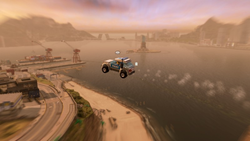 There are plenty of sweet jumps for you and your car to take here. Pro tip: try to hit the ramp straight because the game does not treat cars that land on the top well.