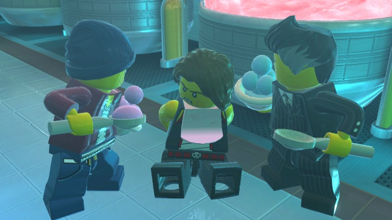 Warning, Lego City Undercover contains scenes of torture by freezing people's brains. It may be too much for young children to watch, especially if they are lactose intolerant!