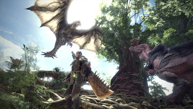 Monster Hunter World, Not For Nintendo But Still Pretty