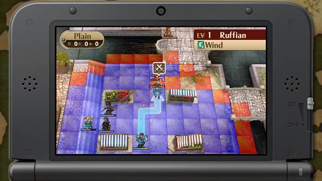 As seen on the 3DSXL... which they decided to not release a bundle with.  The gameplay reminds me of Ghost Recon for the 3DS, but that's what you get with a tactics type game.  (Maybe we'll see a Final Fantasy Tactics 2?)
