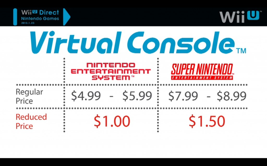 Special pricing for a limited time for those who already own the games on the Wii.  They could give them away for free, but they also could have just as well charged you full price again...
