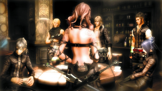The cutscenes are gorgeous and I'm not talking about Syrenne's backside; come on now...