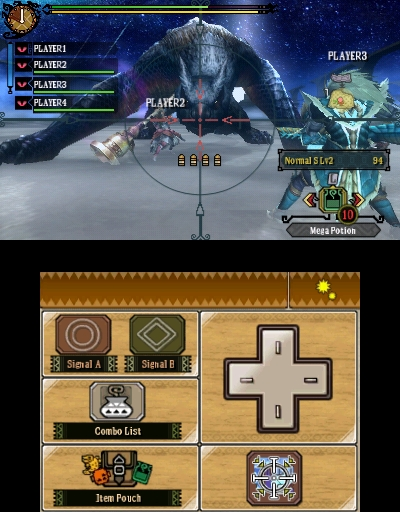 The 3DS version has a lock-on feature that the drug over to the Wii U.  In the middle of a fight this is pretty cool, but with the 3DS it can kill your left hand.  Use that digital D-Pad, it's much nicer in the long run.