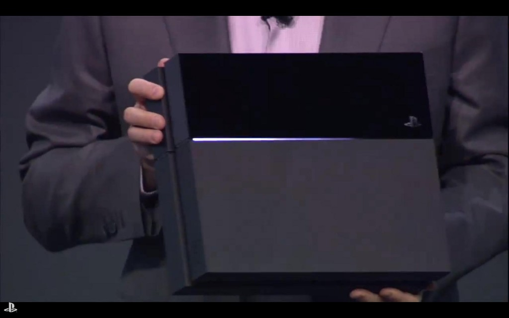 Holy crap, they actually showed the console.  It actually looks pretty good.