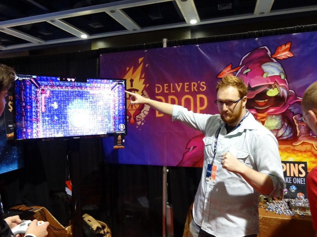 This is Ryan Burrell. Much like the photo shows, he's a boss! Who wouldn't want to support a dev like this guy?