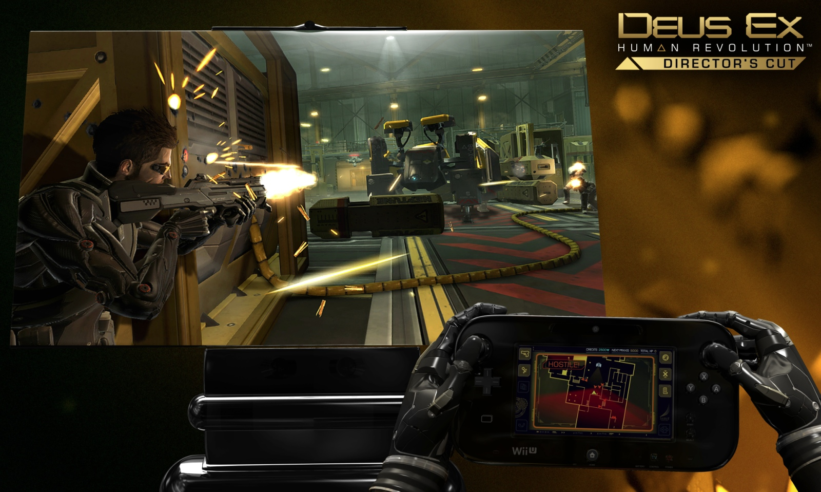 It really does look great, and the hacking on the GamePad is pretty sweet!