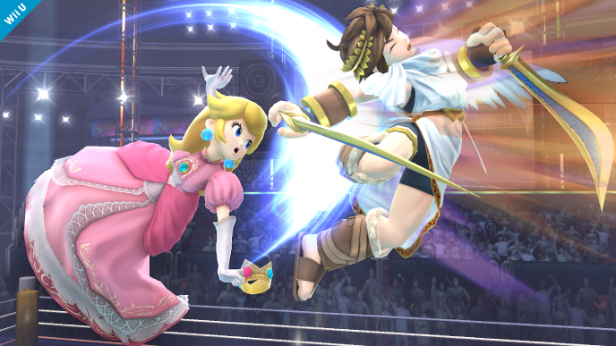Princess Peach & Pit