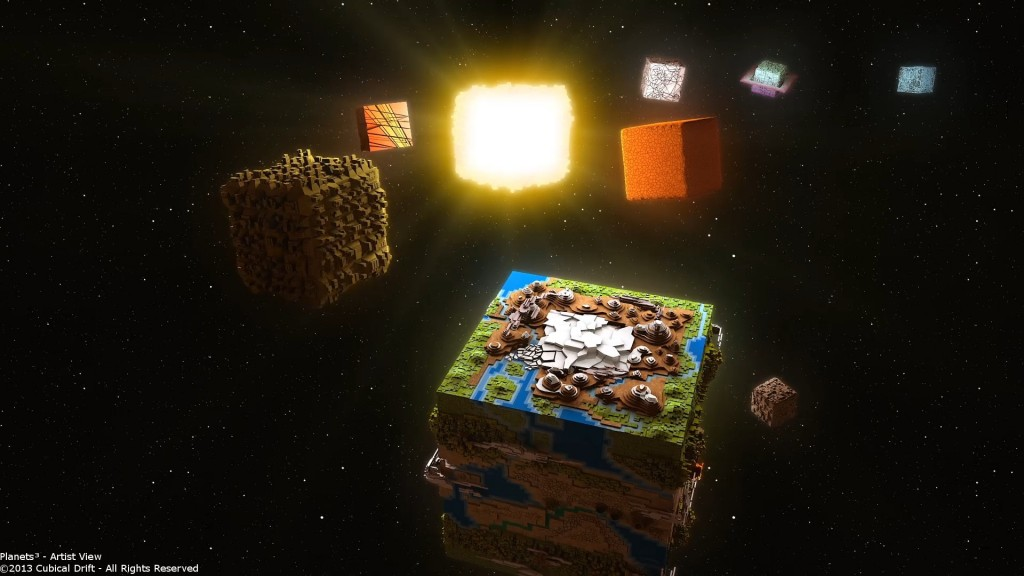 Has anyone ever played Cubivore? These planets make me miss that game something fierce!