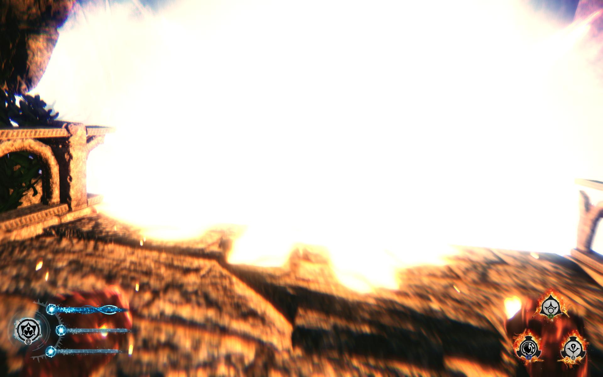 Explosions: the answer to all the problems in Lichdom.