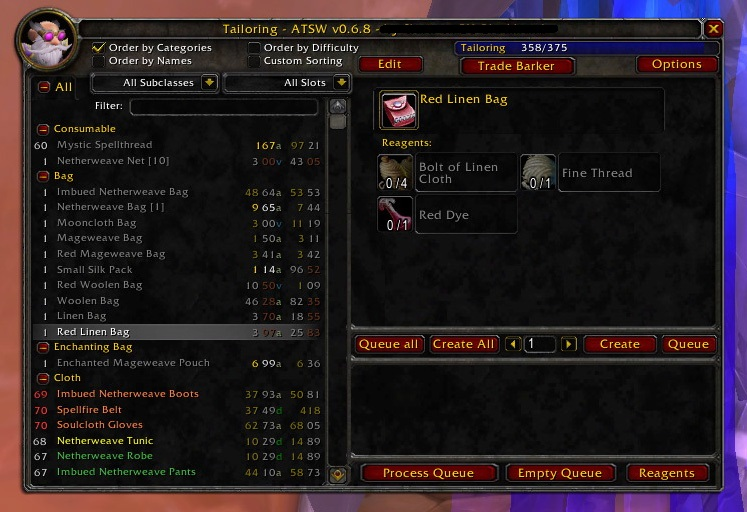 World of Warcraft had the basic crafting system in. It did the job, but came off as boring and tedious. The only real thing that kept it going was a mild sense of accomplishment and the fact that the some of the high end stuff looked awesome.
