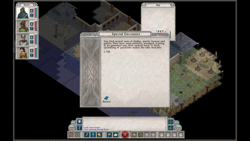 While the game may take you a while to beat, thankfully everything I've come across is very well written. It really is like reading a good fantasy novel.