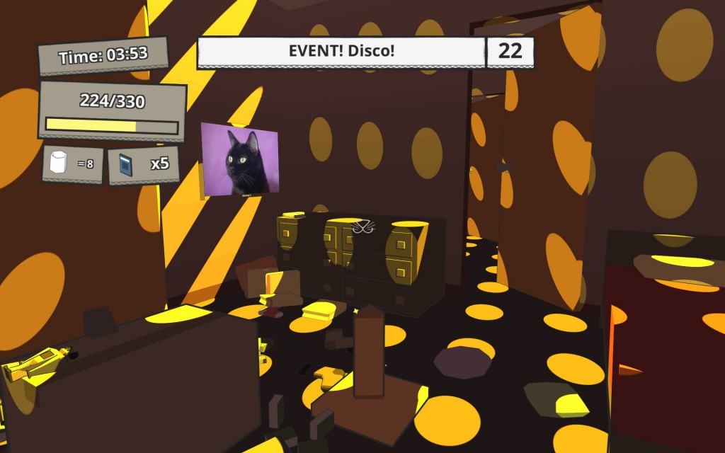 There are multiple events that can happen in Catlateral Damage and while most are just for funzies or give you power-ups, some can help you get achievements.