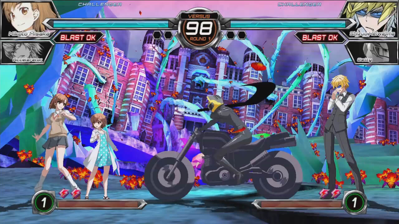If there's one thing that I love about fighting games is when there are super flashy moves. I've seen other people use them... but I can't do anything super fancy yet.