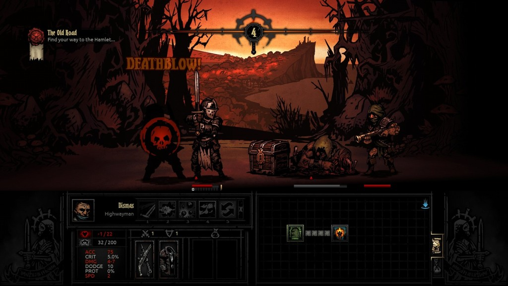 Poor Dismas, he didn't even make it out of the tutorial mission. The corpse in front is keeping the enemy with the rifle out of range of my melee attacks.