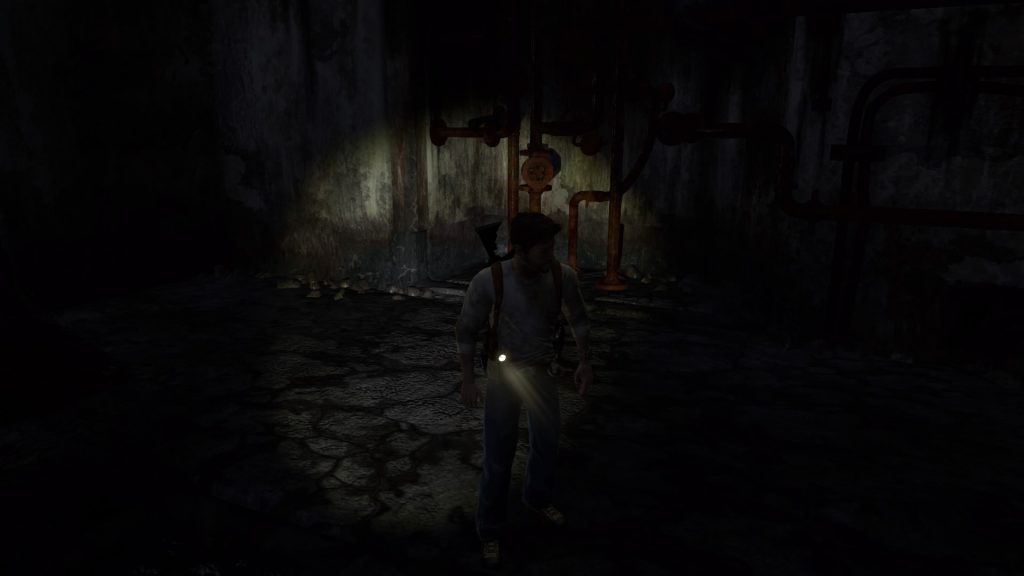 Man, those hyper realistic lighting effects! It's just crazy isn't it? Maybe I have a flashlight coming out my...