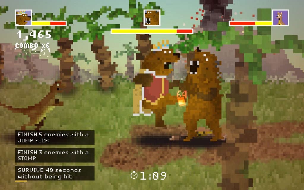 You'll never see this in Avadon 3 and that is a bit of a shame even if the Bear Kind is rather slow.
