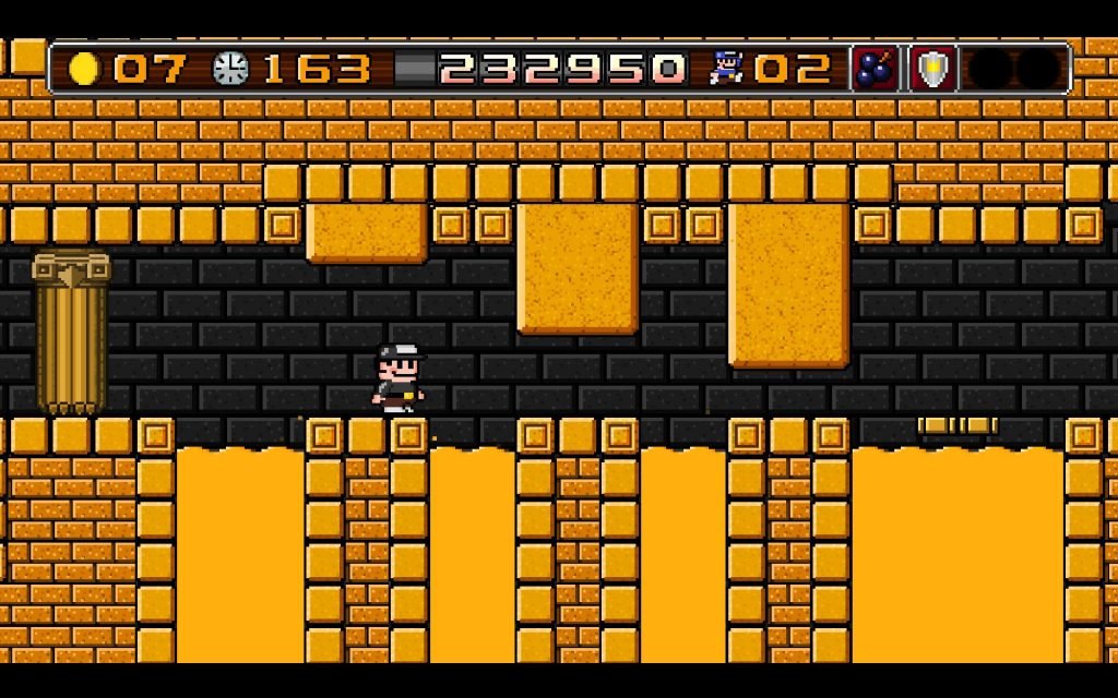 I'm glad there is no voice acting in 8BitBoy since I'd be hearing the main character die a lot and I'd assume most of the bad guys would use the Duck Hunt Dog laugh a lot. In Galaxy Quest areas like this, you don't really want to get mocked too much.