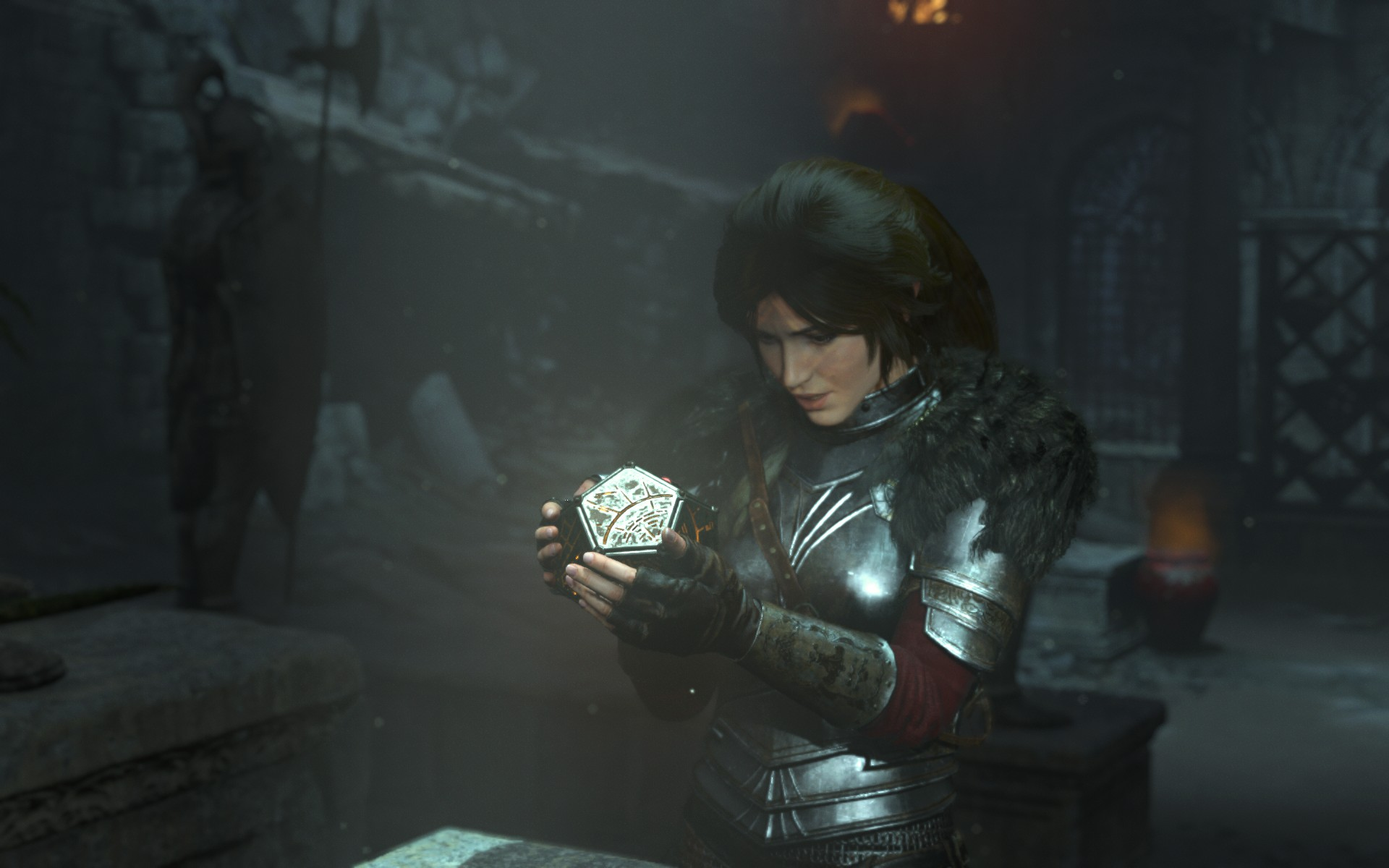 Another thing that they did more of in this game was tombs. There were a lot more tombs to be raided here which welcome because I didn't feel like the first one had enough. There was nothing too brain-twisty in RotTR either, but it was still nice to have more.