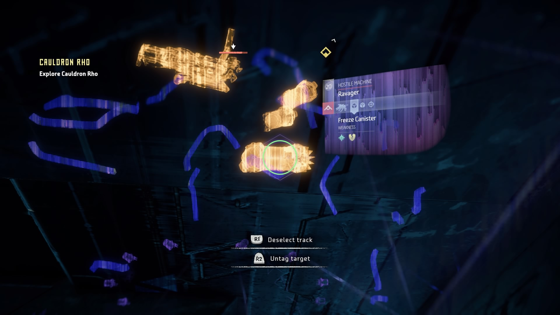 """While some may have complained about the scanning in Horizon to be too closely modeled after Batman's scanning, I don't care. It worked well for what they used it and it didn't feel like a gimmick. It did suck when you went into the scanning mode on accident in the middle of a crazy fight because it slowed your movement speed down to """"punch me in the face please"""" per hour."""