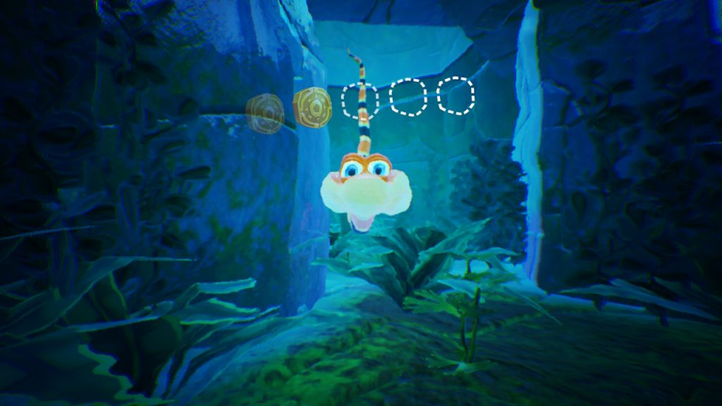 Thankfully, you can't drown or that would have given me a whole other dimension to die in in Snake Pass.